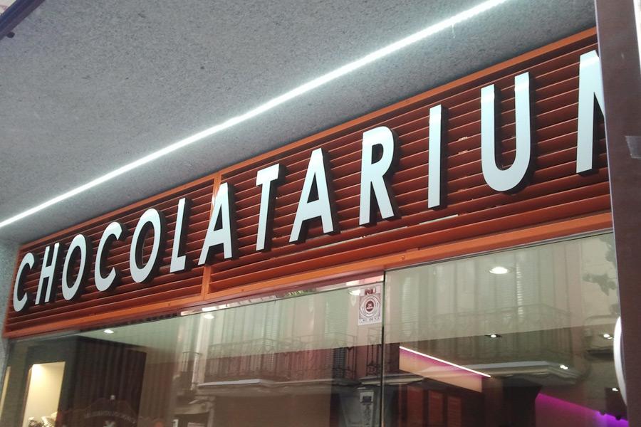 Letras Corpóreas Chocolatarium