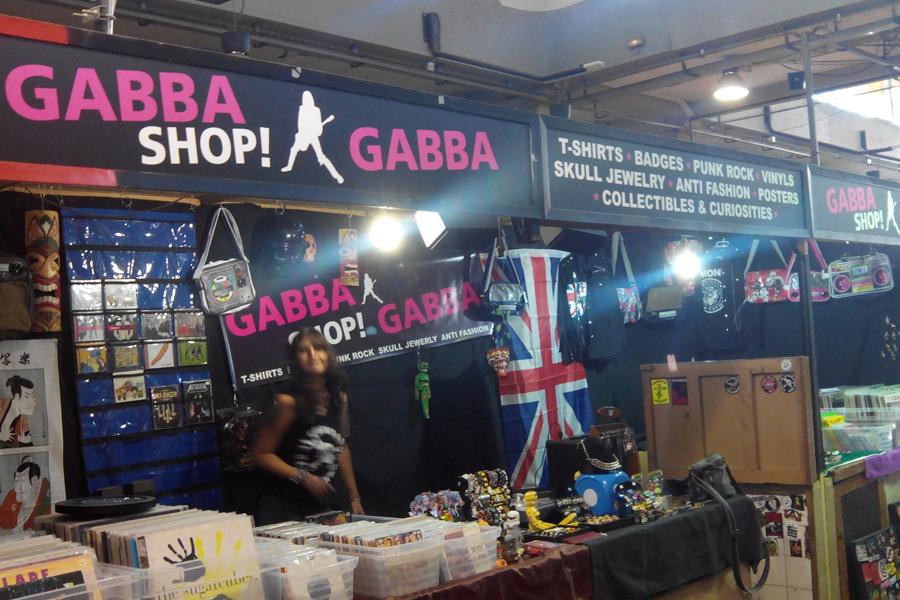 Puesto de Gabba Shop