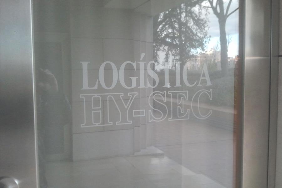 Vinilos en Logística Hy-Sec
